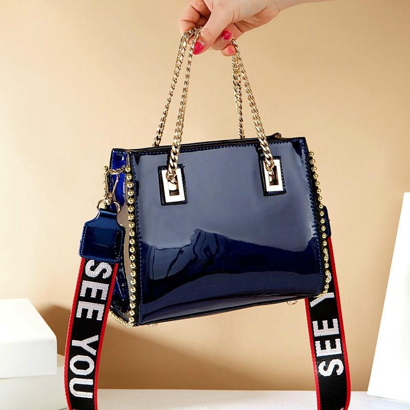Women Shoulder bag Chain Famous designer rivet diagonal package Womens luxury shoulder bags for women 2019