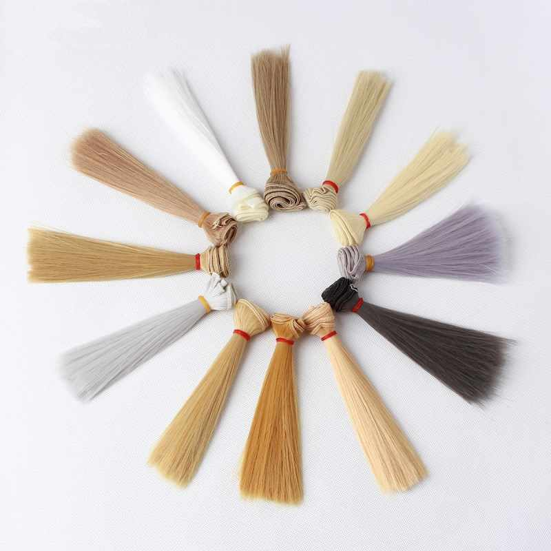 BJD цветные аксессуары для волос куклы для кукол русские игрушки ручной работы для детей Рождественский подарок 15 см * 100 см