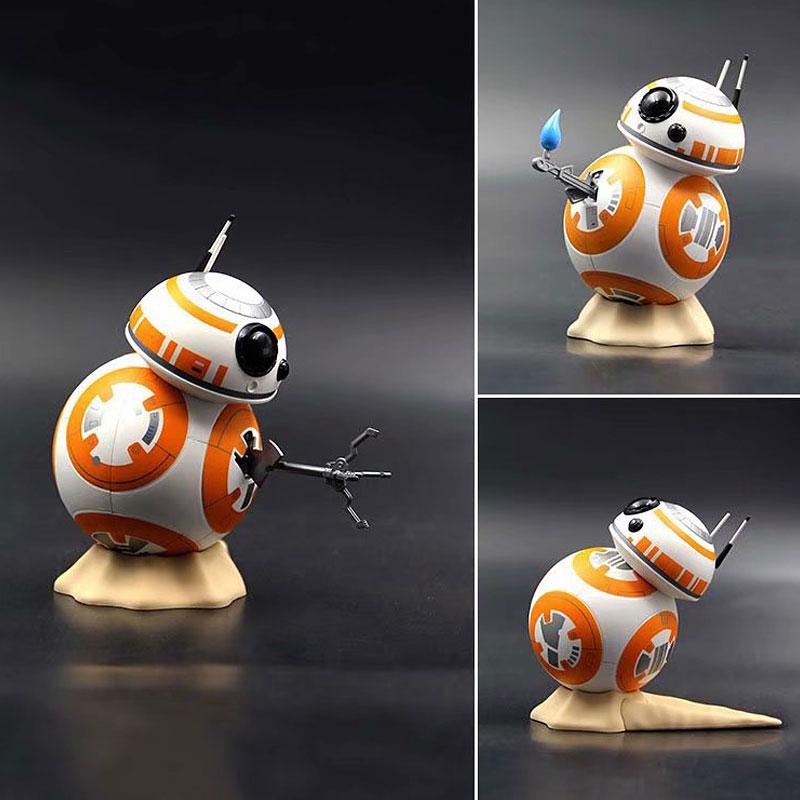 Fast shipping Star Wars robot BB-8 garage kid pvc children toys christmas gifts