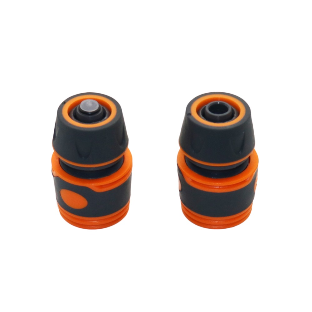 Car Wash Hose Connector, Waterstop Connector For 1/2 Inch Hose Garden Lawn Irrigation Fittings Pipe Adapters 1 Pc
