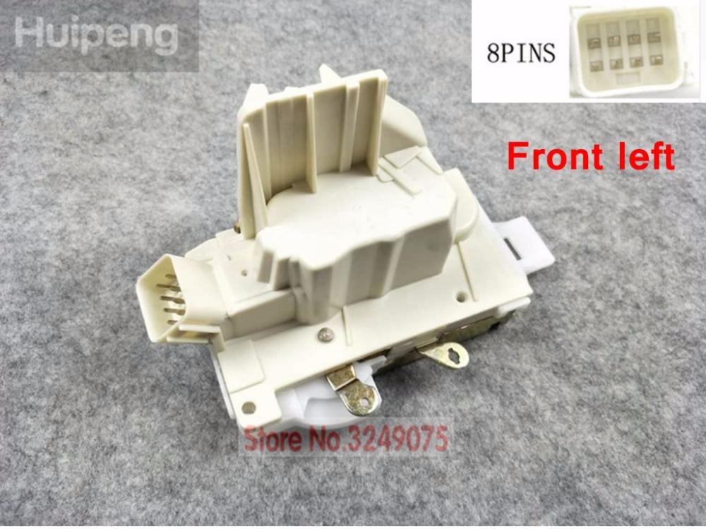 4PCS FRONT REAR LEFT RIGHT SIDE DOOR LOCK ACTUATOR FOR FORD MONDEO 2001 2007 8 PINS