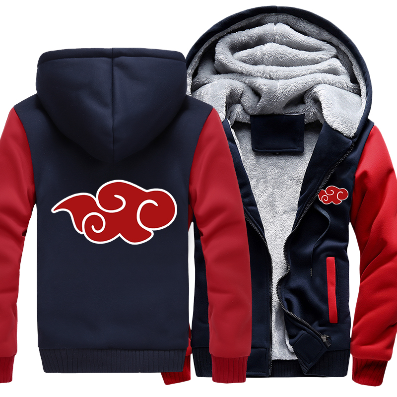 Naruto Hoodies Sweatshirts Shippuden Cloud Hooded Boys Fashion Hokage Ninjia Men Women Classic Cartoon Printed Clothes
