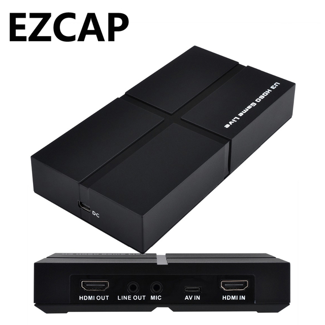US $104 98 |Aliexpress com : Buy USB 3 0 HD 1080P Game Capture Card Video  Record BOX with OBS Live Video Streaming,with Mic in HDMI/YPBPR/AV,Windows