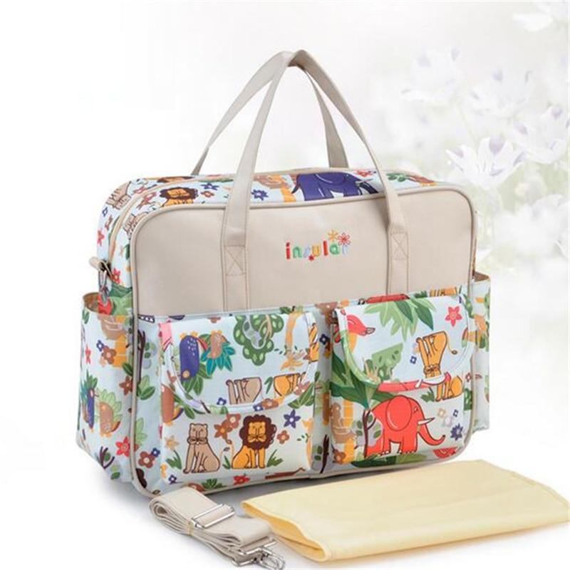 HTB1TvQOLNjaK1RjSZFAq6zdLFXaw Mummy Maternity Nappy Bag Stroller bolsa Large Capacity Baby Travel Backpack Mommy Nursing Bag Baby Care Changing Diaper Bag