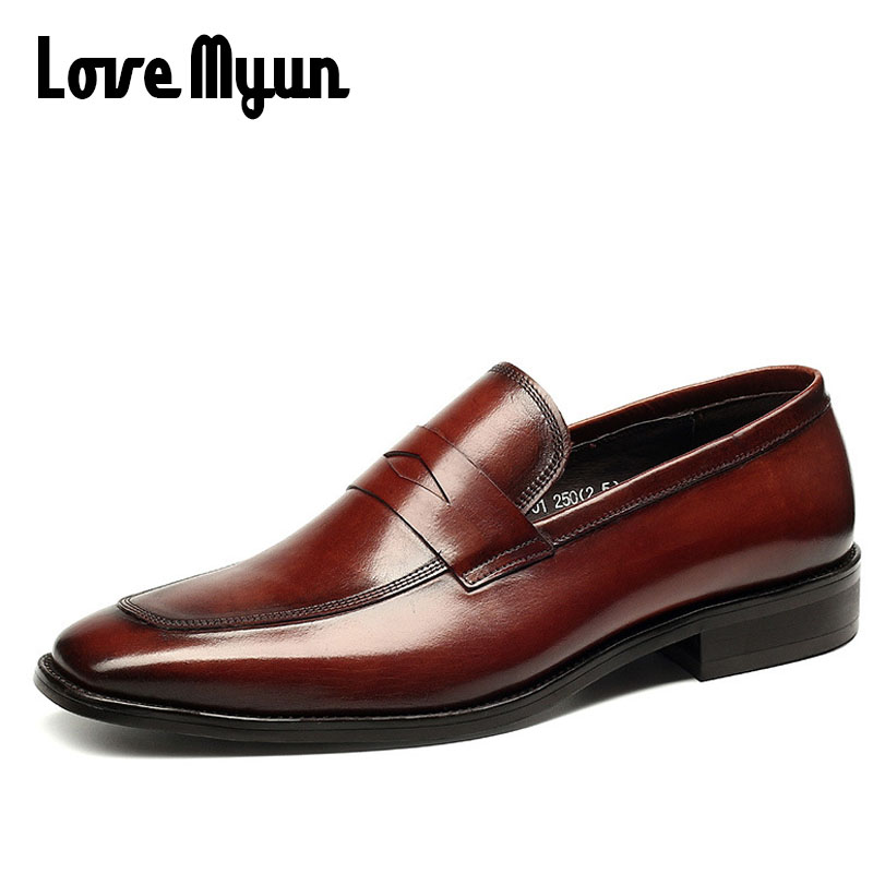 High Quality Brand Luxury Designer Men Bullock Genuine Leather Loafers Driving Shoes Men Business Boat Flats Casual Shoes II-71 grimentin fashion 2016 high top braid men casual shoes genuine leather designer luxury brand men shoe flats for leisure business
