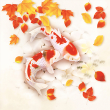 A1253 Diamond Embroidery Home Decor 3DIY Golden Fish 100% area Resin Tool dril Painting Cross Stitch Fashion Mosaic Needlework a1405 diamond embroidery home decor 3diy strawberry 100