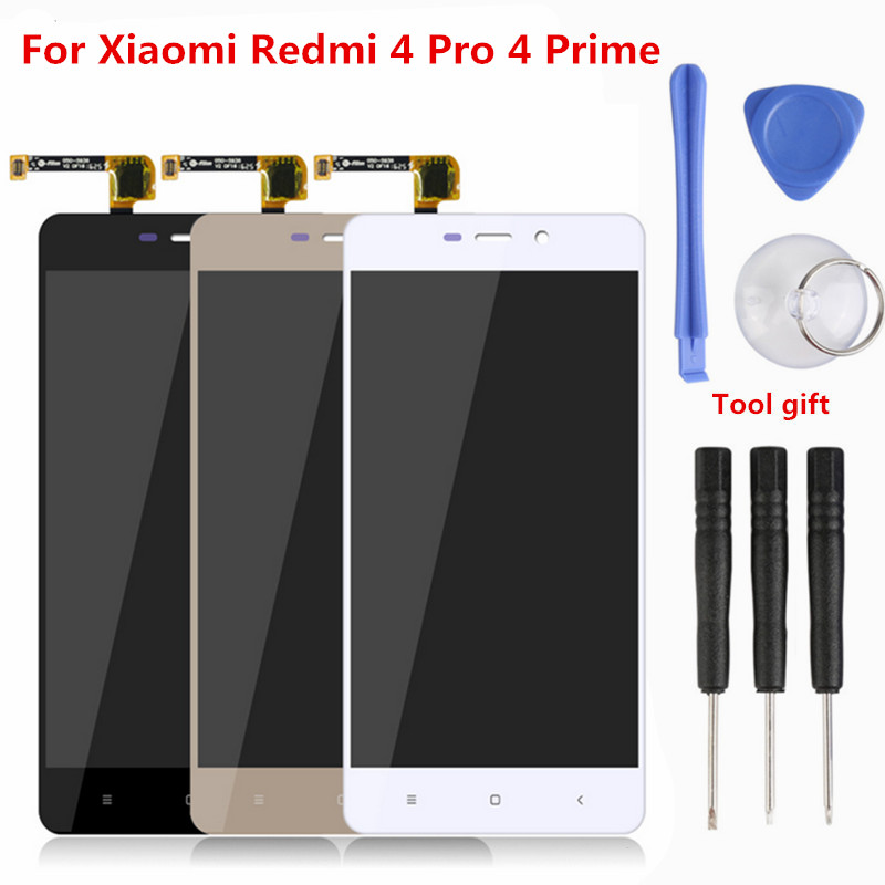 Atten 100% AAAA Original LCD for Xiaomi Redmi 4 Pro 4 Prime Screen LCD Replacement Display Touch Redmi 4 Screen 4 Pro LCD+Tools