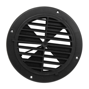 Image 4 - 1 Pcs 6.5 Inch Round Louvered Vent For RV Motorhome Boat Ventilation Parts UV Protection 0.7 Inch Thickness PP Plastic