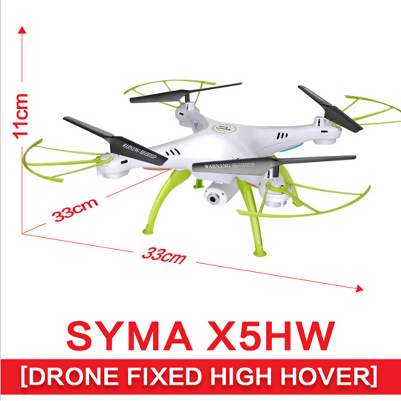 SYMA RC Helicopter X5HW (X5C Upgrade) Drone with WiFi Camera Real-time Transmit FPV Quadcopter Quadrocopter HD Camera Dron 4CH