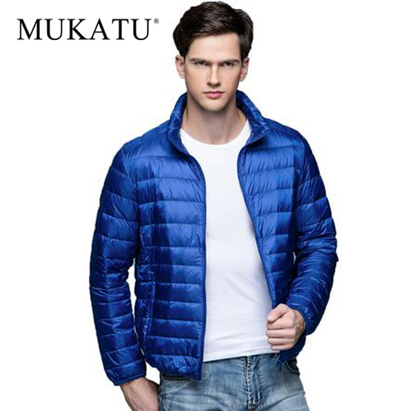 MUKATU Autumn Winter Ultra Light   Down   Jackets Men   Coat   White Duck   Down   Parkas Male Jacket Winter Jacket Men Outerwear