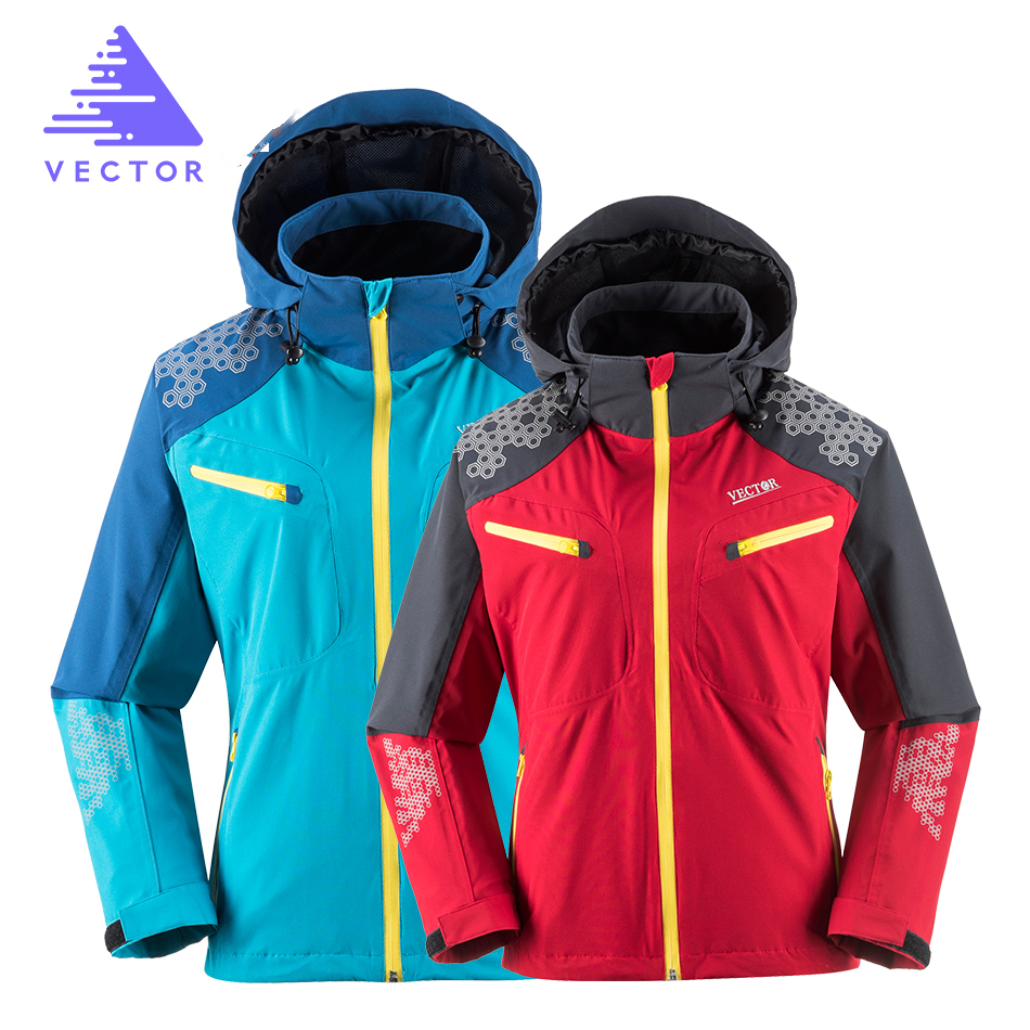где купить VECTOR Outdoor Jacket Men Women Windproof Waterproof Camping Hiking Jackets Mountain Climbing Trekking Outdoor Windbreaker 60007 по лучшей цене