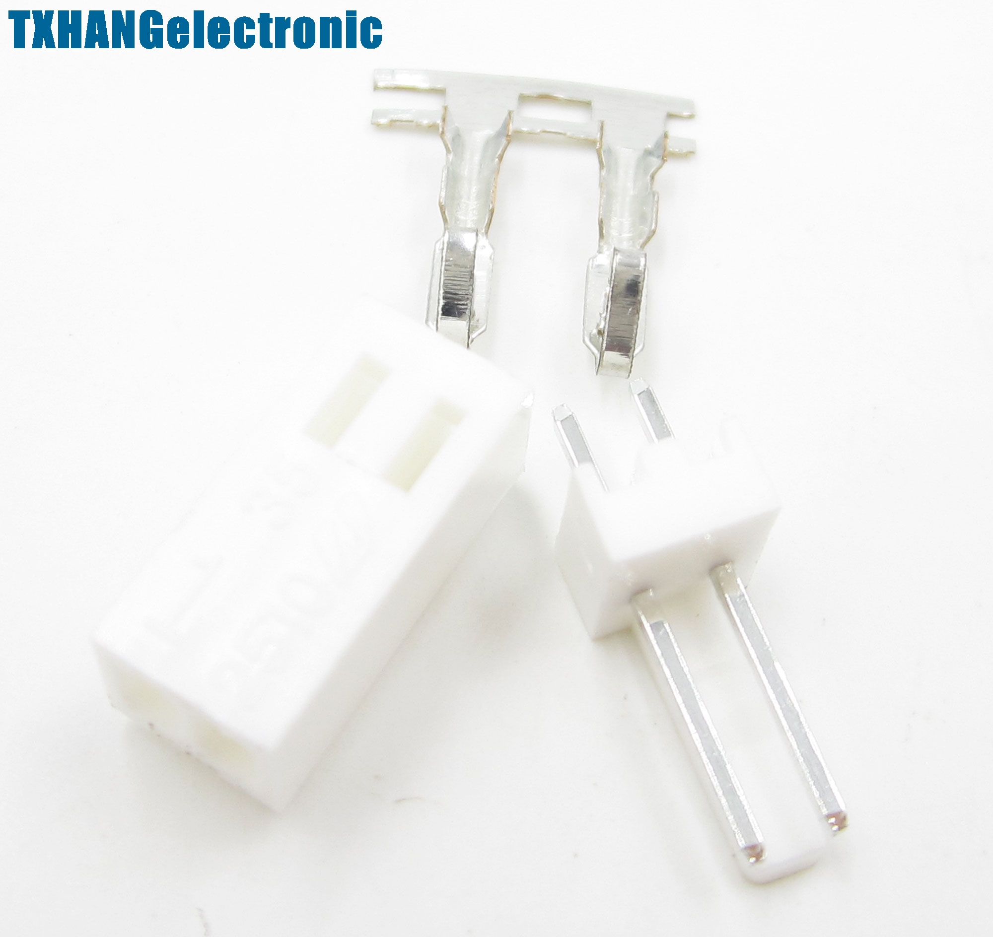 Housing Connector Kit  New 10PCS KF2510-2P 2.54mm Pin Header Terminal