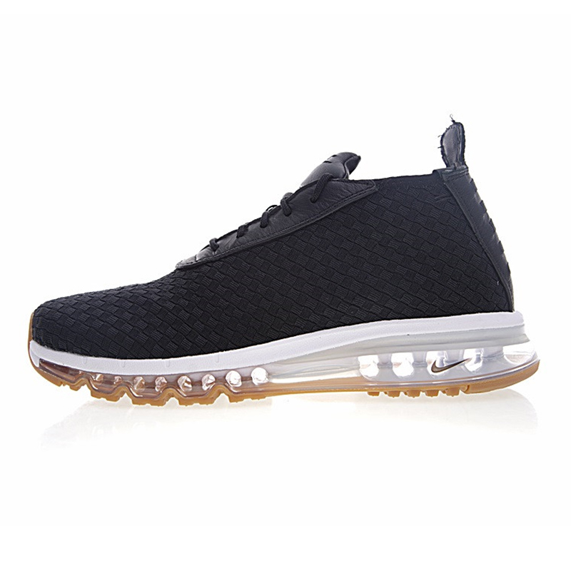 sale retailer e7f09 6b227 Original New Arrival NIKE AIR MAX WOVEN BOOT Men s Running Shoes,  Black blue, Non-slip Wearable Breathable 921854-003 921854-001