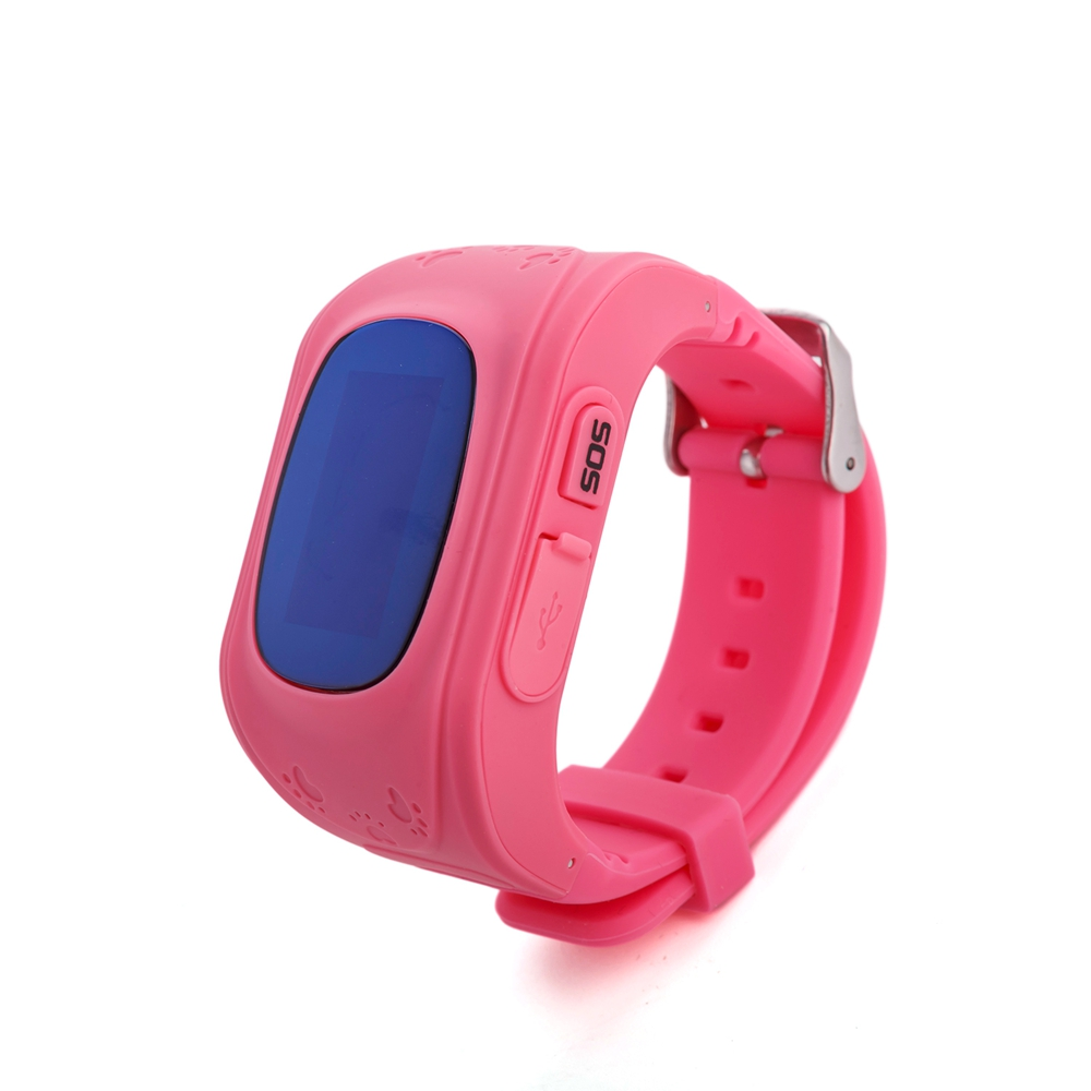 Q50 OLED Child GPS Tracker SOS Smart Monitoring Positioning Phone Kids GPS 0033