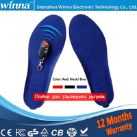 New USB Warm Heating Insoles Winter Thick Warm Insoles For Women Men Shoes Quick Warm Foot