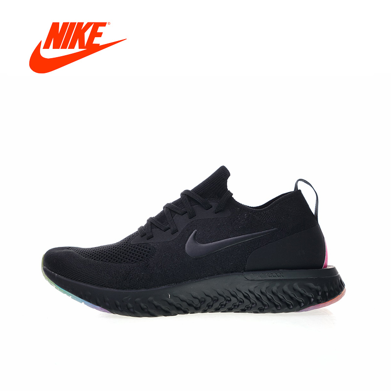 Original New Arrival Authentic Nike Epic React Flyknit BeTrue Mens Running Shoes Sneakers Breathable Sport Outdoor Good Quality
