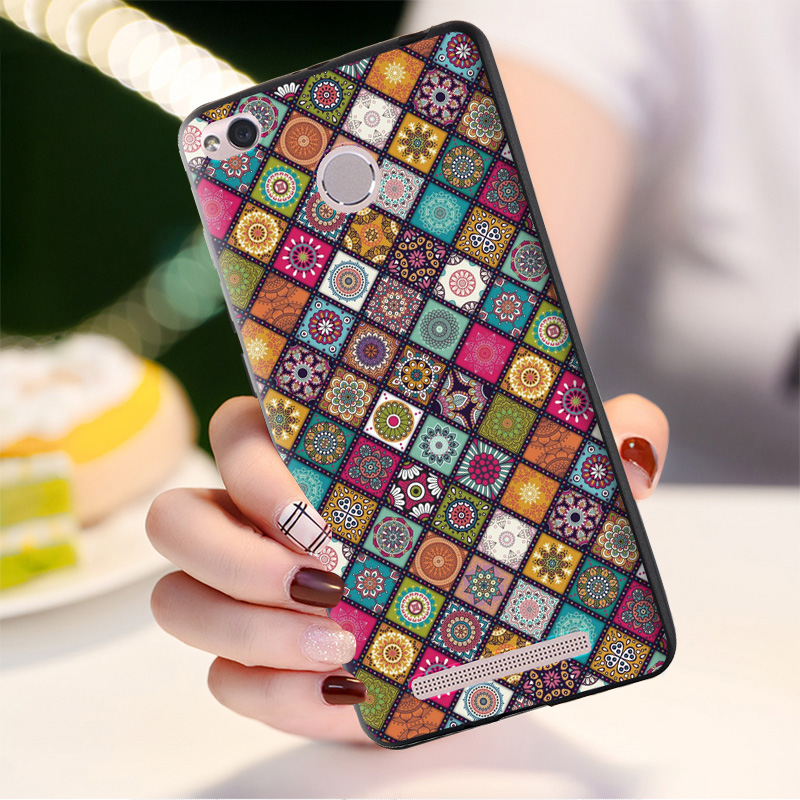 Fashion Soft Cover Case For Xiaomi Redmi 3 Pro TPU Case cell Phone Back Cover For Coque Xiaomi Redmi 3s 3 s Silicone Case shell