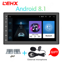 Car Android 8.1GPS Navigation Bluetooth For Nissan VW Toyota Peugeot WiFi Multi Media 7 inch car Radios Pla