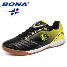 BONA/Новинка; типичный стиль; мужские футбольные бутсы для помещений; Профессиональная Мужская футбольная обувь из коровьей кожи; спортивная обувь из кожи; Быстрая