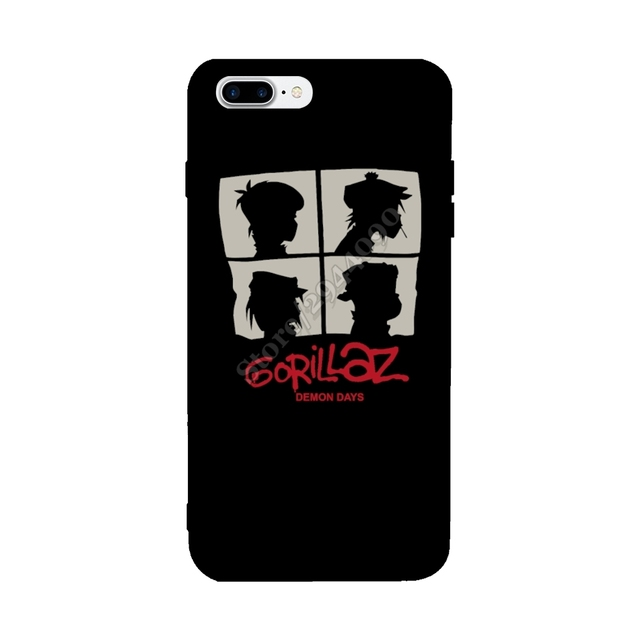 protective cover for iphone x case new gorillaz demon days forprotective cover for iphone x case new gorillaz demon days for iphone 6s 6 7 8 plus case stylish anti knock custom covers