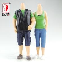 Wedding gift custom wedding cake topper resin body / creative gifts / clay dolls / custom / clay doll body SR260