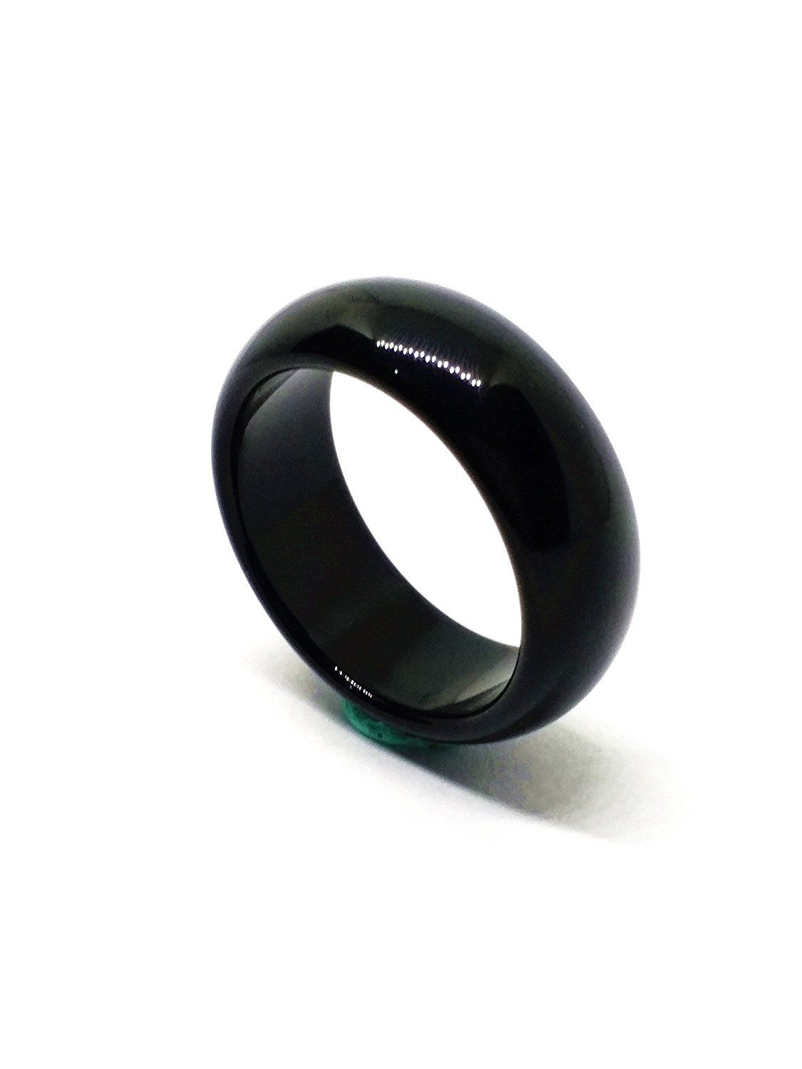 jewelry realreal ring black jade and cabochon products cocktail the tiffany co rings enlarged