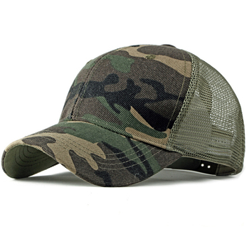 HT2360 Spring Summer Sun Hat Caps for Men Women Adjustable Baseball Cap Breathable Mesh Trucker Cap Camo Camouflage Baseball Hat men women summer quick dry baseball cap solid color hollow out leisure mesh breathable adjustable sunshade outdoor sun hat