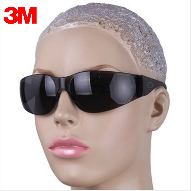 3M 11330 Safety Potective Gray Goggles Glasses Anti-UV Sunglasses Anti-Fog Shock Proof Working Labor Eyes Protection Glasses