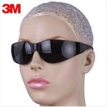 3M 11330 Защитные очки серого цвета, очки с защитой от ультрафиолета, противотуманные противоударные рабочие защитные очки для глаз