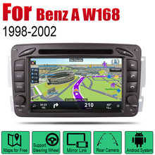 AutoRadio 2 Din Android Car DVD Player For Mercedes Benz A W168 1998~2002 NTG GPS Navigation Wifi Map Multimedia system Stereo