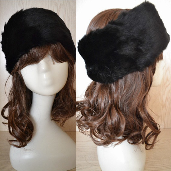 Fashion Hot New Women's Warm Snow Hat Winter Autumn Imitate Rabbit Fur Cap Beanie Hat rabbit hair lady autumn winter new weaving small pineapple fur hat in winter to keep warm very nice and warm comfortable
