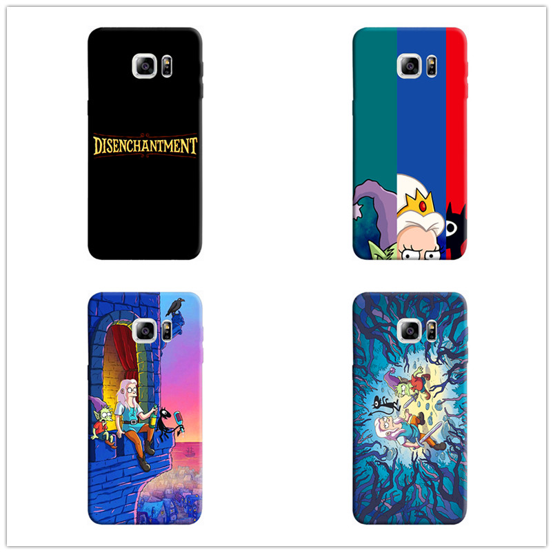 Netflix TV Disenchantment Fashion soft TPU Silicone case for Samsung Galaxy 8 9 plus 6 7 edge 5 cover cases