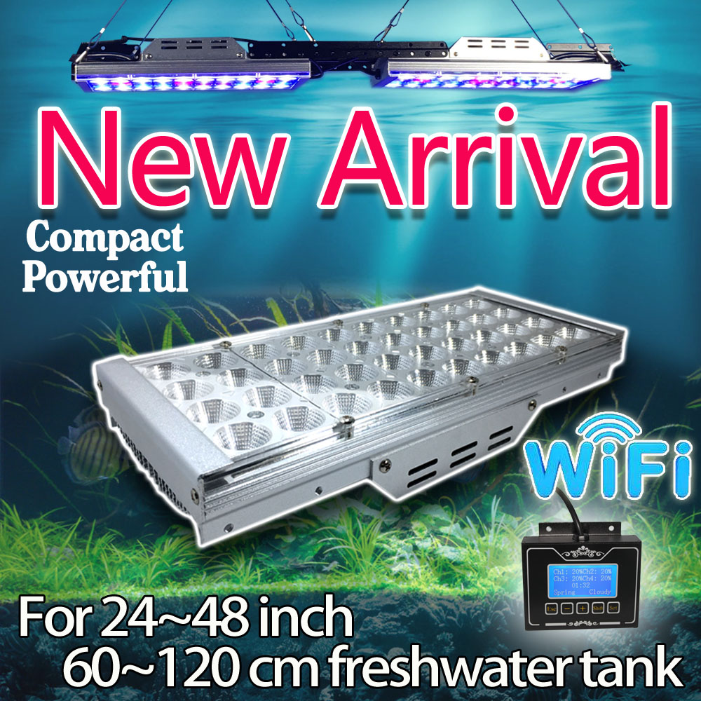 Fish tank light timer - Led Aquarium Lighting Dimmable Timer Programmable For Freshwater Plant Fish Tank Wifi Smart Controller Full Spectrum