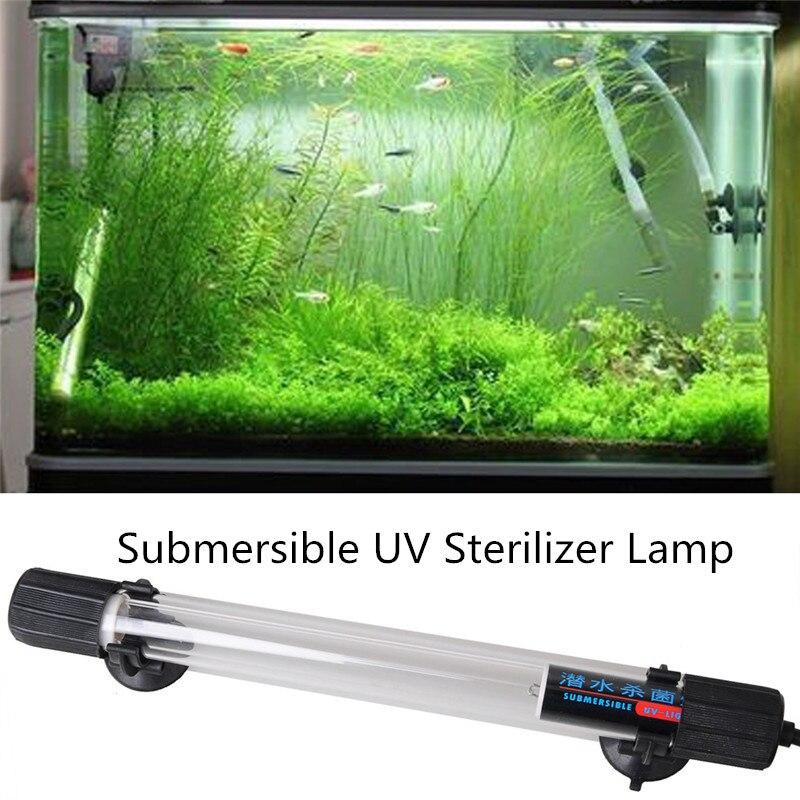 10w 26 8cm ip68 waterproof aquarium fish tank uv light for Uv sterilizer fish tank