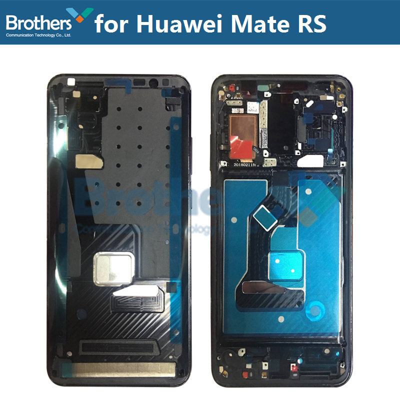 Front Frame for Huawei Mate RS LCD Frame Front Bezel Housing for Huawei Mate RS Screen Frame with Buttons Original Repair Part