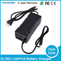 32.85V 2.5A 3A 3.5A Autostop LifePO4 Battery Charger Universal