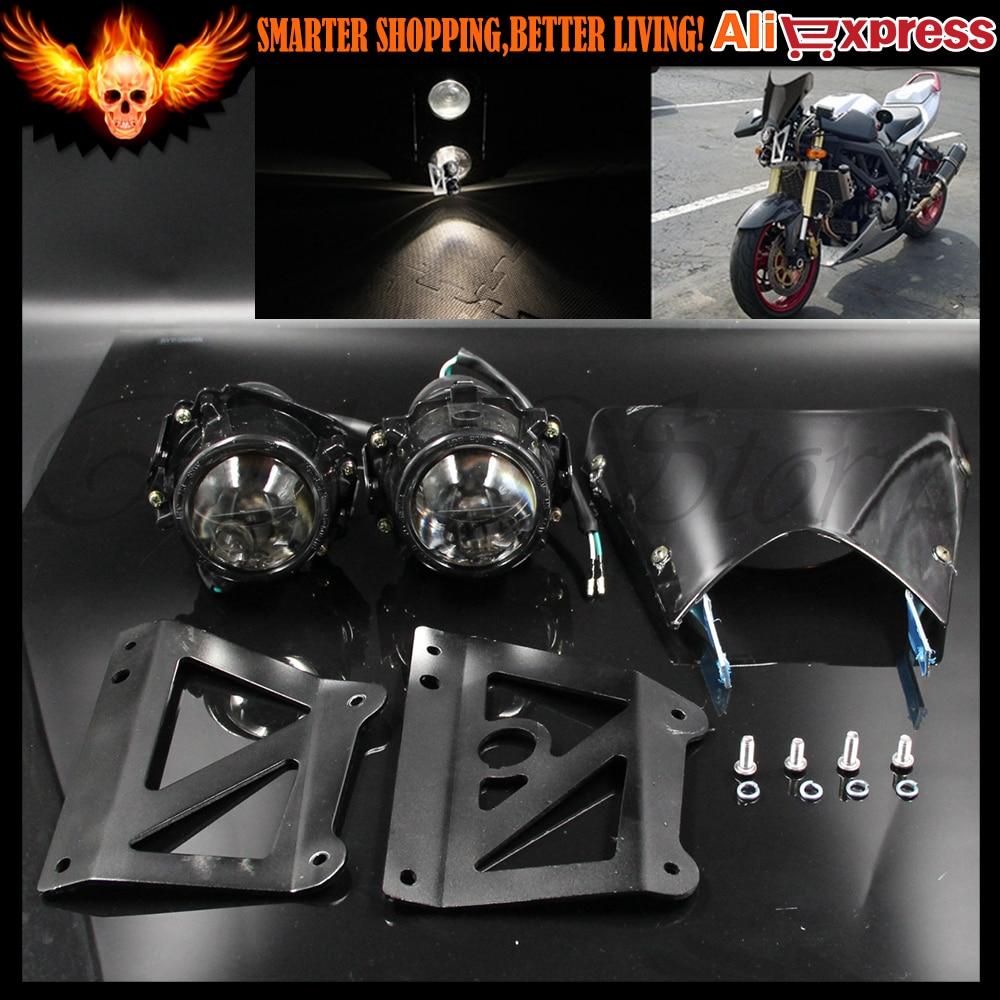 Smoke Sachs Madass 50 125 500 Kikass Streetfighter Projector ... for Motorcycle Headlight Design  150ifm