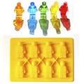 1 PC Brinquedo Lego Tijolo Quadrado Forma Silicone Molde De Chocolate Molde Do Cubo de Gelo Molde Bakeware Decoração Ferramentas Fandant Ferramentas DIY