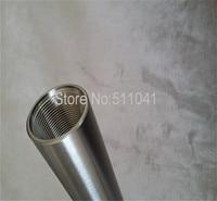 Gr2 titanium tube grade 2,Resistance to high pressure high temperature titanium tube, titanium thread tube32*3*400,black surface