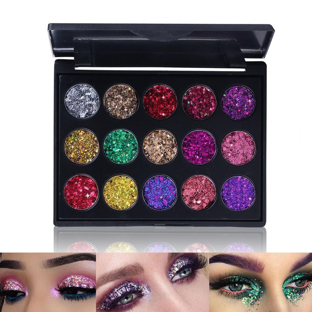 Beauty 15 Color Glitter Injections Makeup Eyeshadow