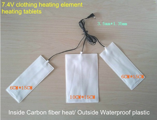 7 4v Electric Heating Tablets For Diy Thermal Clothing