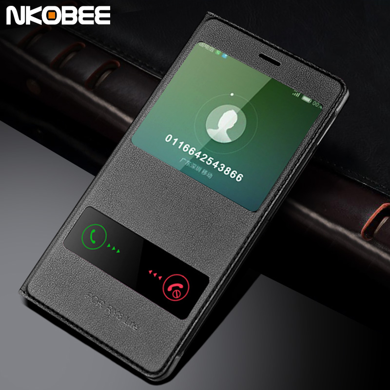 huawei p8 lite 2017 case leather flip cover huawei p8 lite 2017 case 5 2 funda call window for. Black Bedroom Furniture Sets. Home Design Ideas