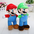25cm New Arrive Cartoon Super Mario Plush Dolls Super Mario Soft Plush Mario Luigi Mario Bros Plush Toys for Kids Gift PP Cotton