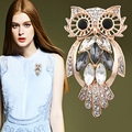Owl  brooches Women jewelry mix order