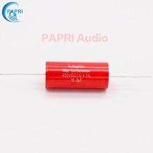 цена PAPRI 15UF 400VDC Axial MKP DIY Audio Grade Capacitor For HiFi Tube Guitar Amplifier  Lot/1PCS онлайн в 2017 году