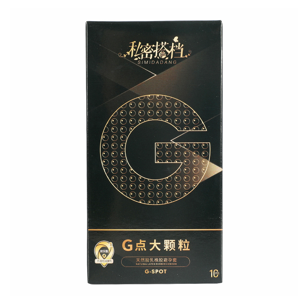 52mm G Point Sexy Latex Condom 1/5/10pcs Natural Rubber Particle Penis Condoms for Men Sex Erotic Condom For Women Contraception(China)