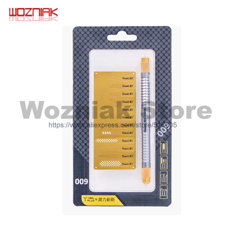 Wozniak Professional Disassembly A8 A9 A10 IC Chip Motherboard NAND CPUknife Set For Iphone Remove Glue Rubber Shovel Tool