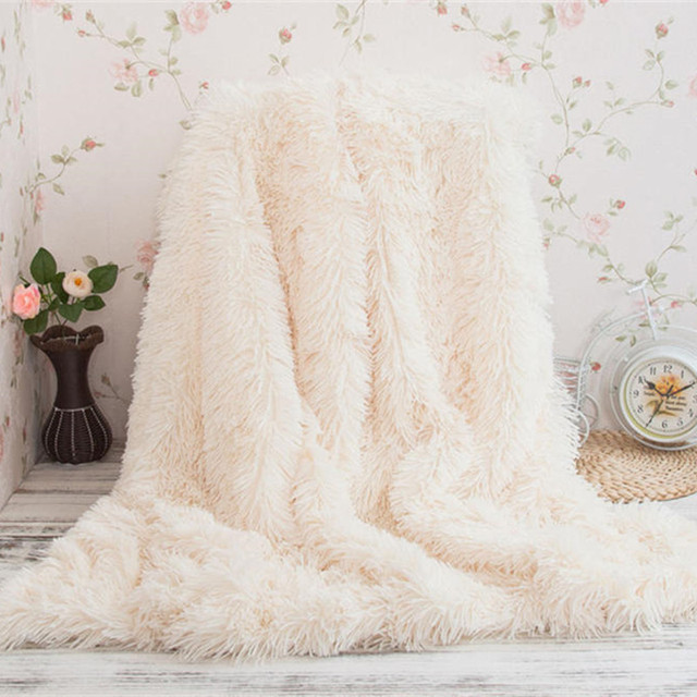 Fluffy Faux Fur Throw Blanket 3