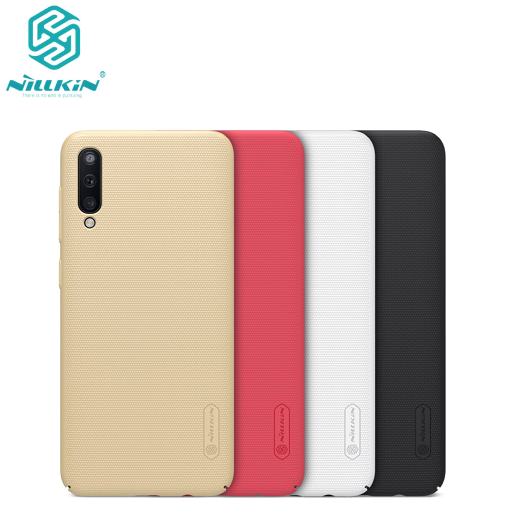 10pcs lot wholesale Nillkin Super Frosted Shield Case For Samsung Galaxy A50 PC Hard Back Cover