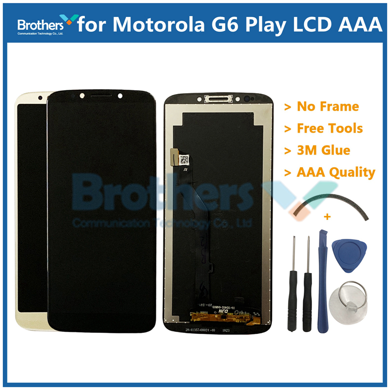 For Motorola Moto G6 Play LCD Display Touch Screen Panel for XT1922 Mobile Phone Lcds Digitizer Assembly Replacement Parts 5.7 For Motorola Moto G6 Play LCD Display Touch Screen Panel for XT1922 Mobile Phone Lcds Digitizer Assembly Replacement Parts 5.7